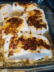 baked lemon herb cod
