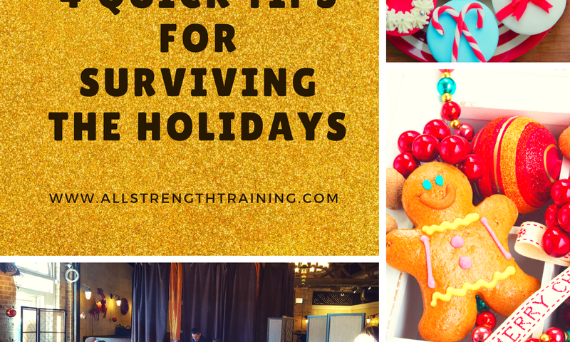 surviving the holidays healthy eating