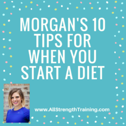 Morgan's 10 diet tips